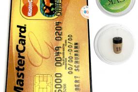 Máy nghe lén siêu nhỏ dạng thẻ ATM