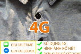 Camera mini siêu nhỏ ngụy trang cúc áo 4G