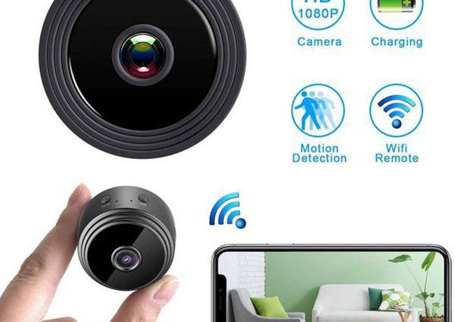 Camera giám sát mini theo dõi bền bỉ, giám sát hiệu quả nhất